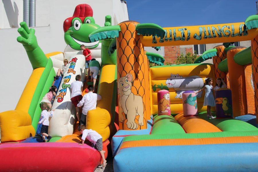 Parque infantil para comunión en Restaurante Galli