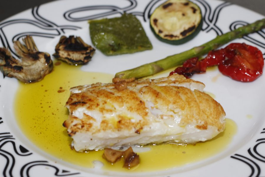 Lomos de bacalao rebozados Restaurante Galli