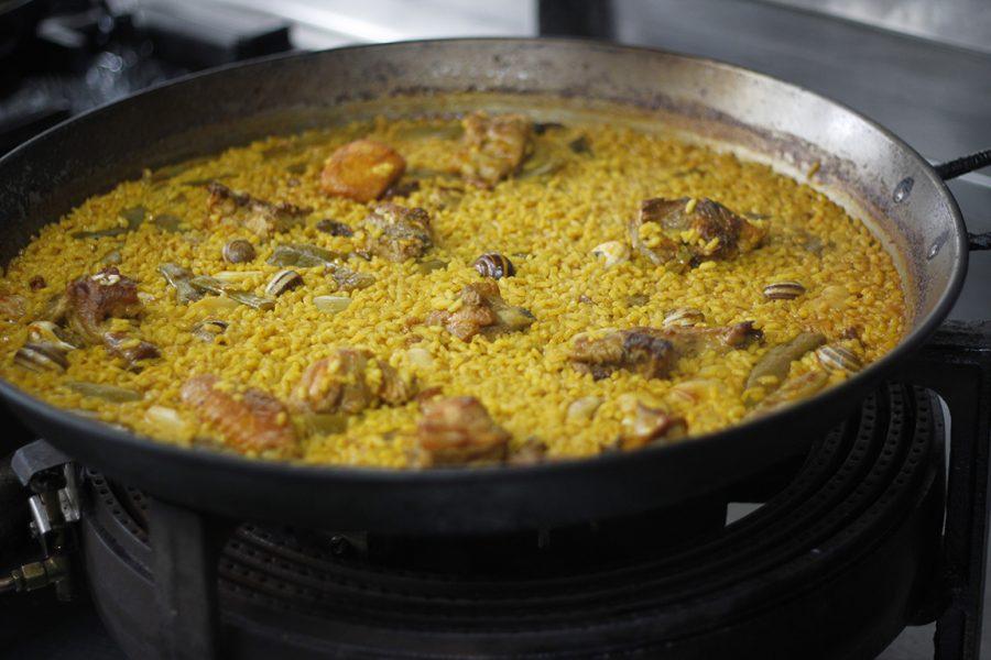 Paella Valenciana Restaurante Galli