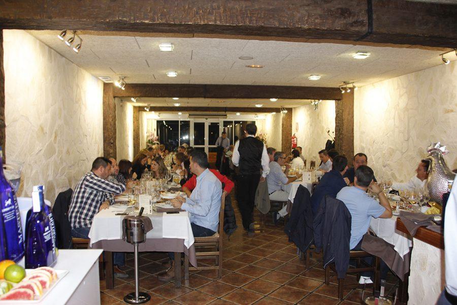 Restaurante Galli por la noche, servicio de cenas
