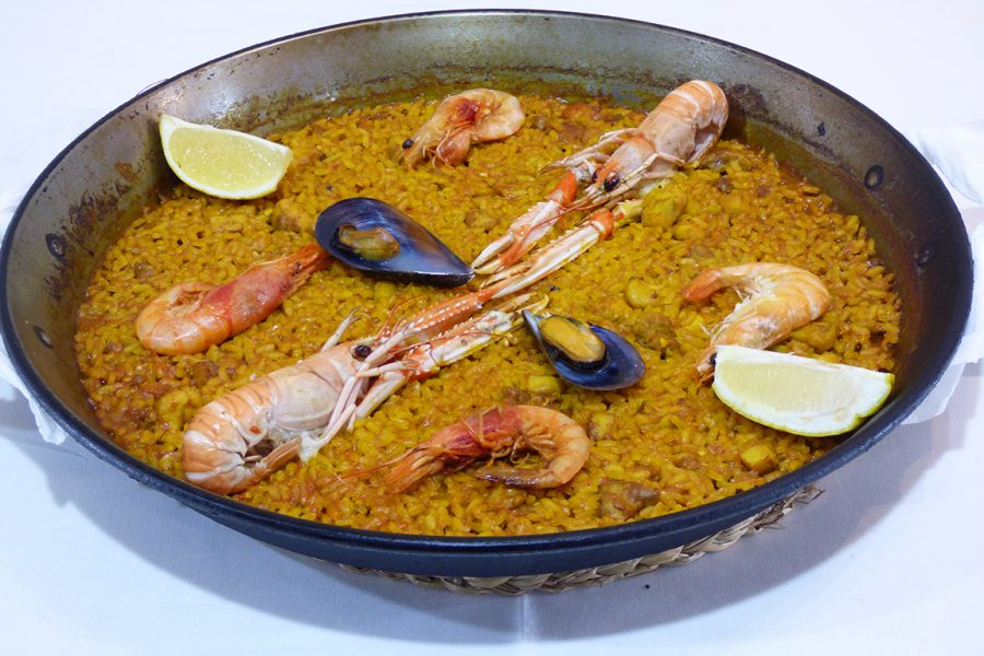 Paella de Marisco Restaurante Galli